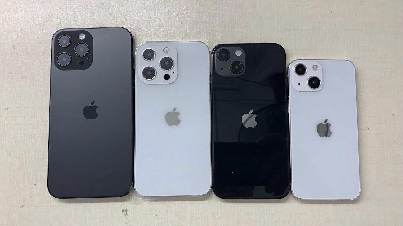 Iphone 13 series dummy models
