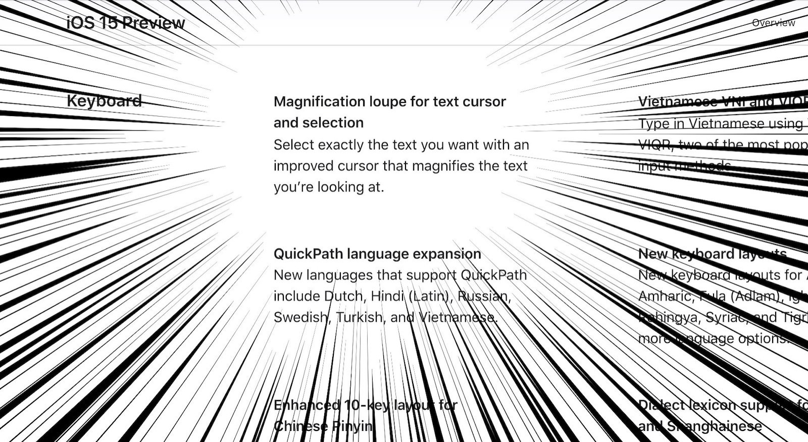 Magnification lope for text cursor