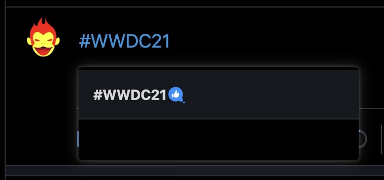 Wwdc 2021 hashtag