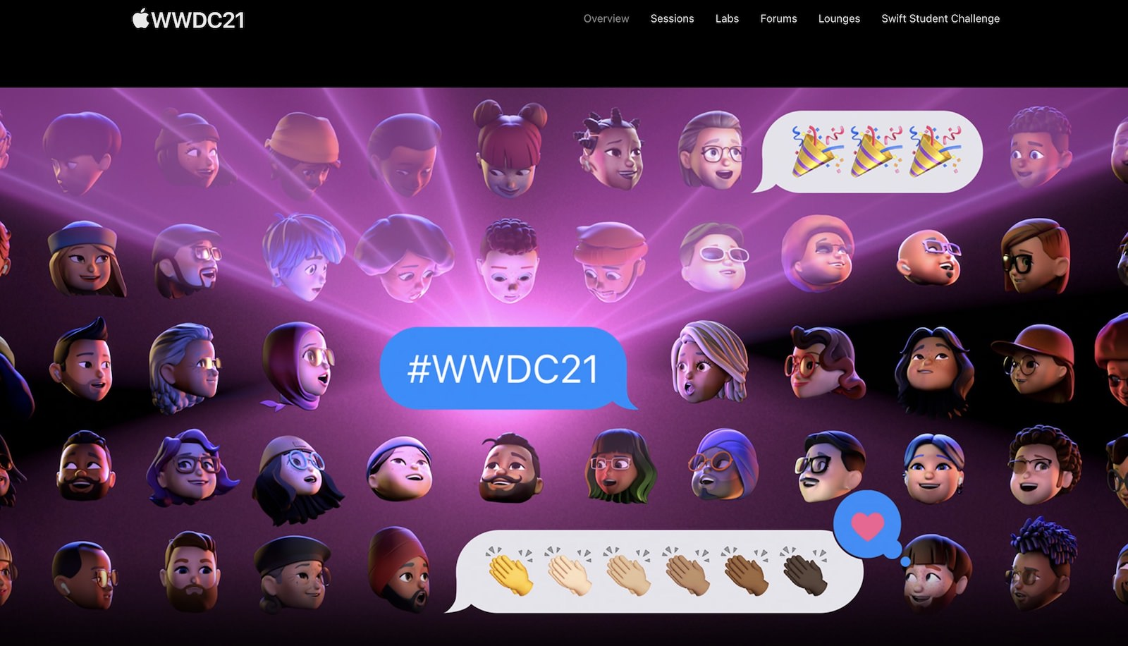 Wwdc21 official page