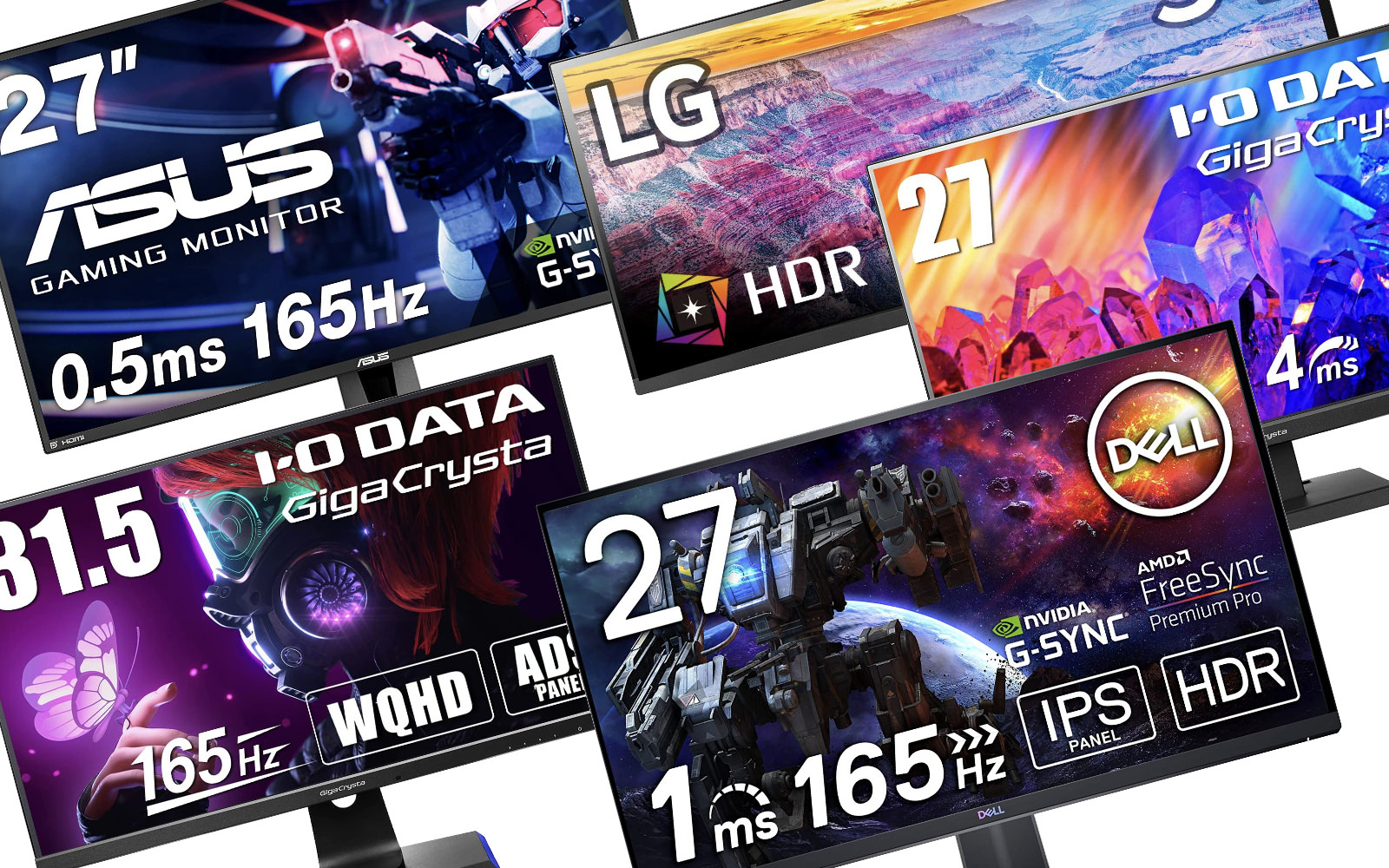 Gaming Monitors on sale