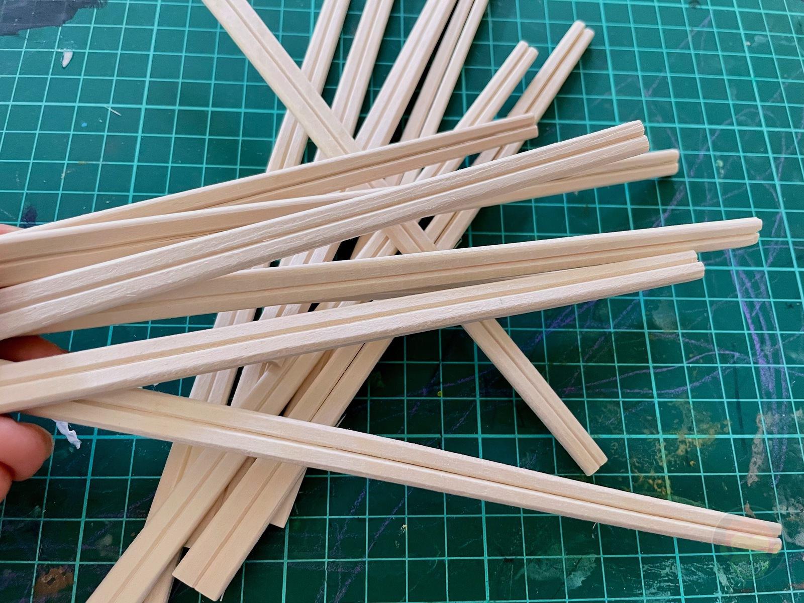 Making House with Chopsticks papame 01
