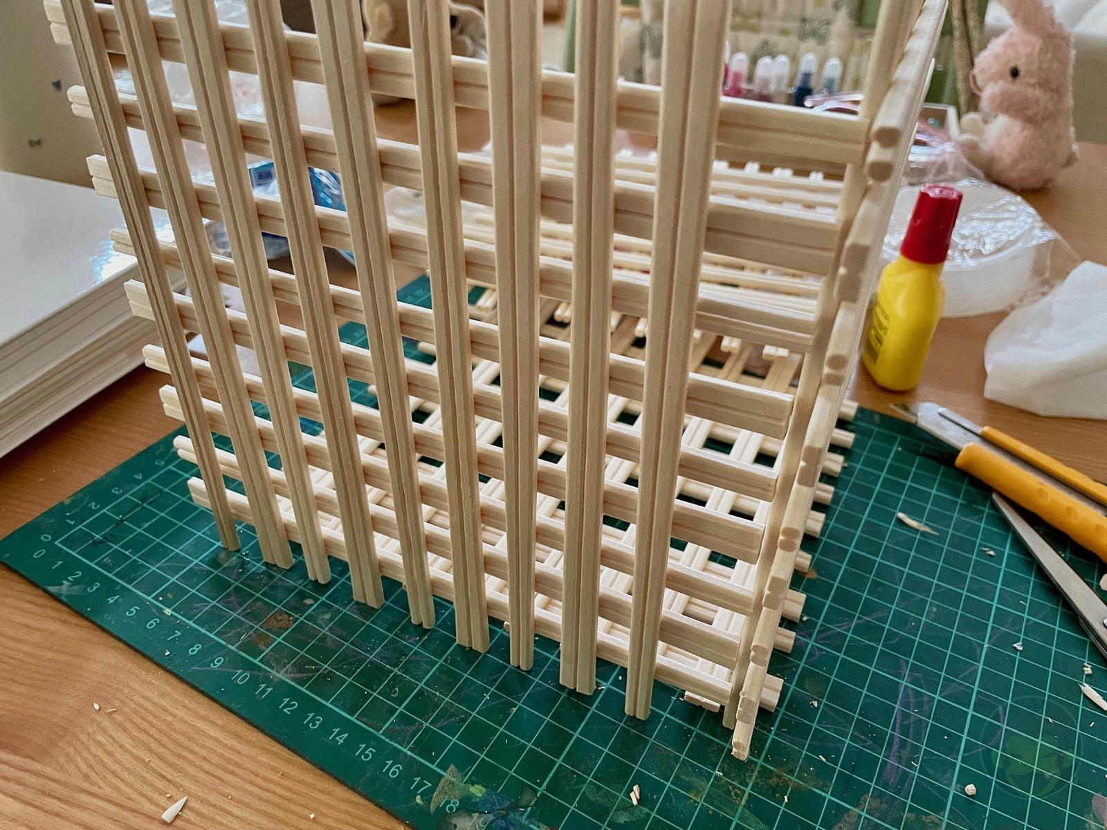 Making House with Chopsticks papame 03