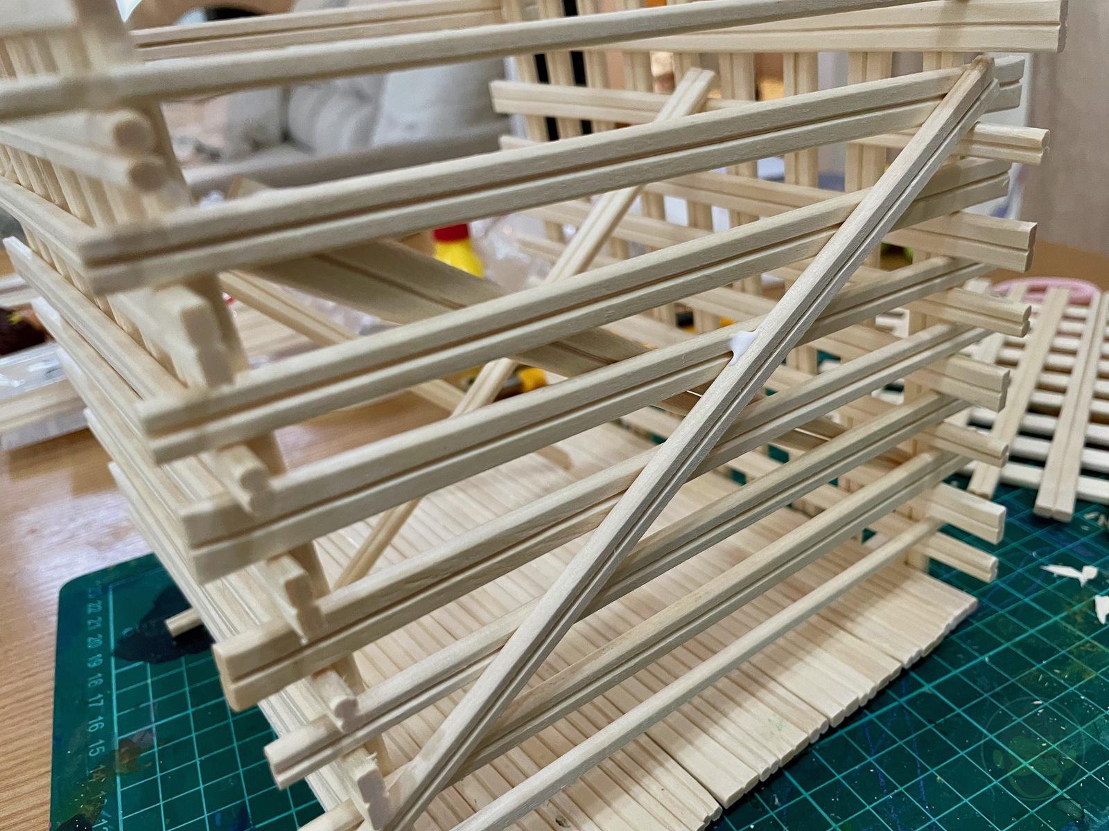 Making House with Chopsticks papame 05