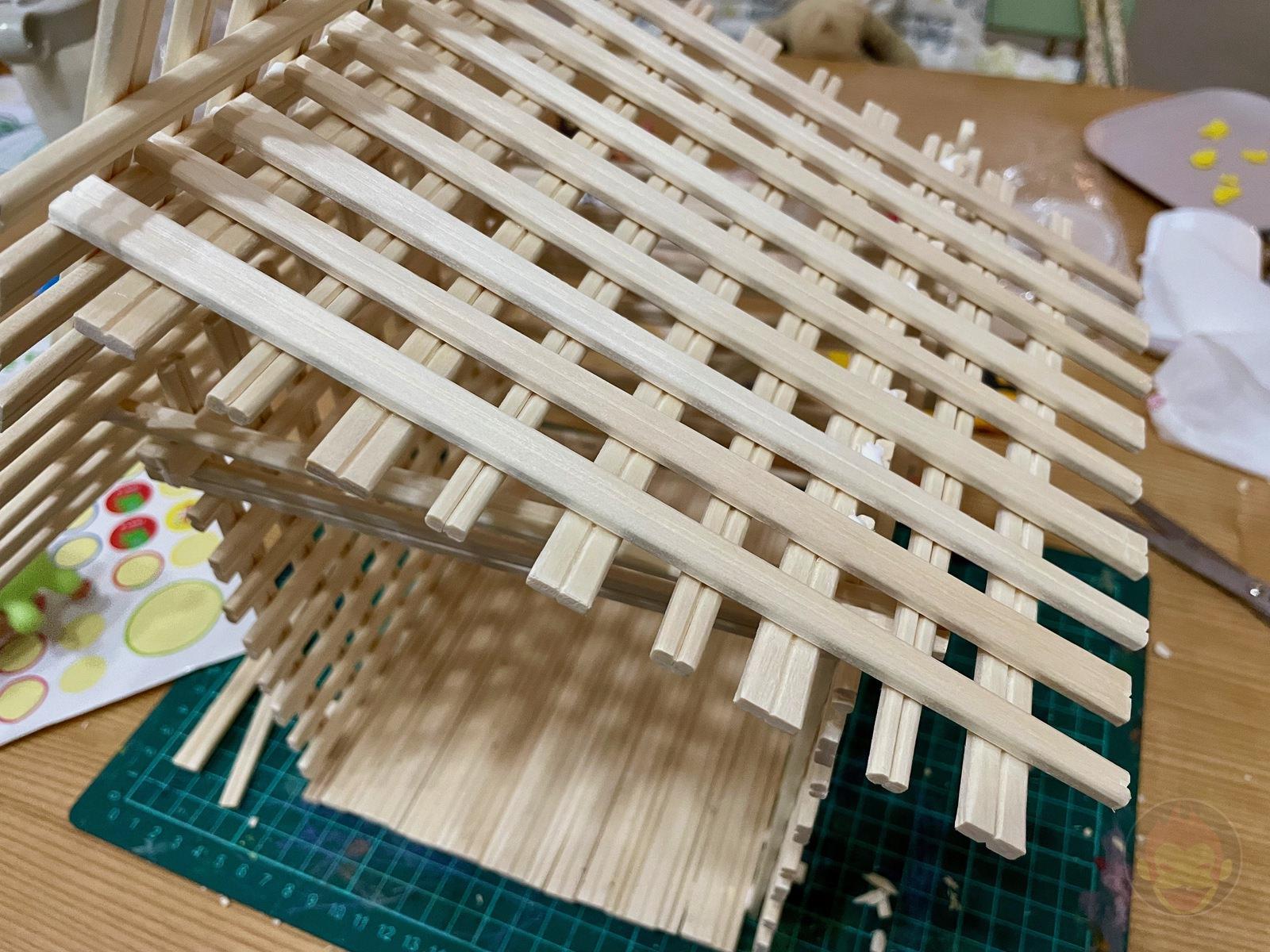 Making House with Chopsticks papame 06