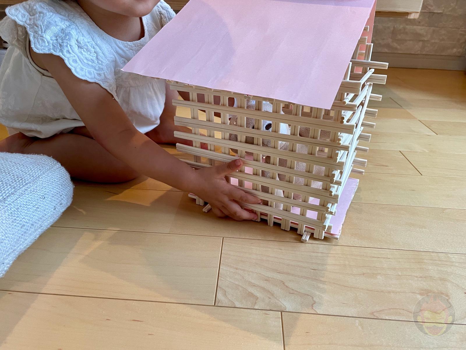 Making House with Chopsticks papame 15