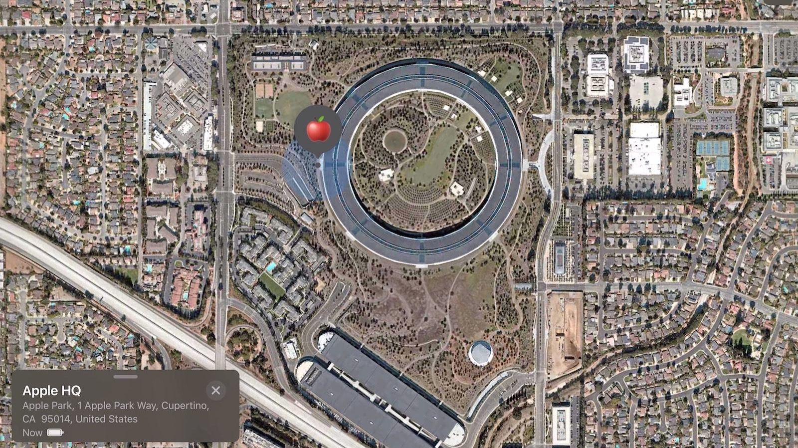Airtags sent to apple park