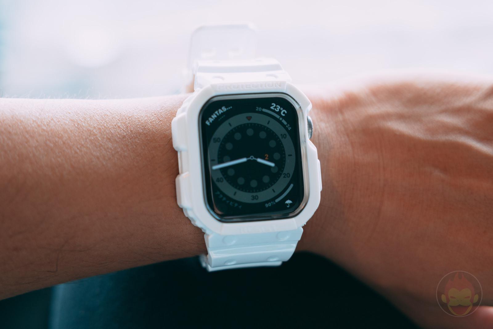 AmBand Apple Watch White G SHOCK Case 02