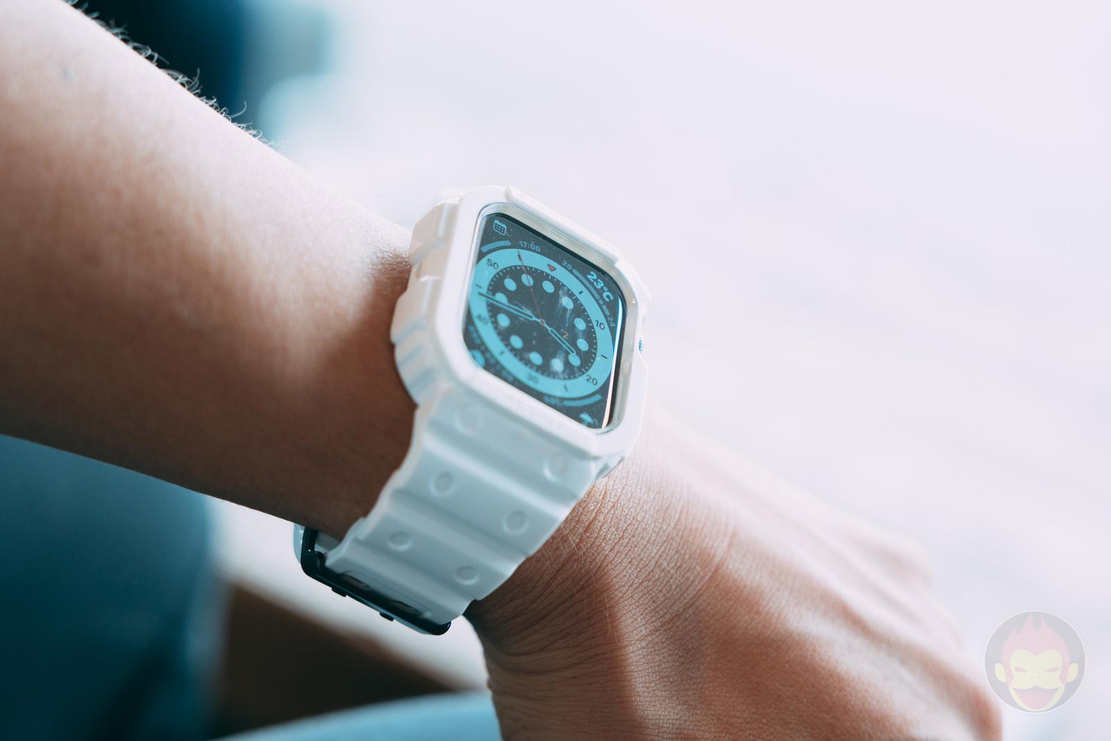 AmBand Apple Watch White G SHOCK Case 04