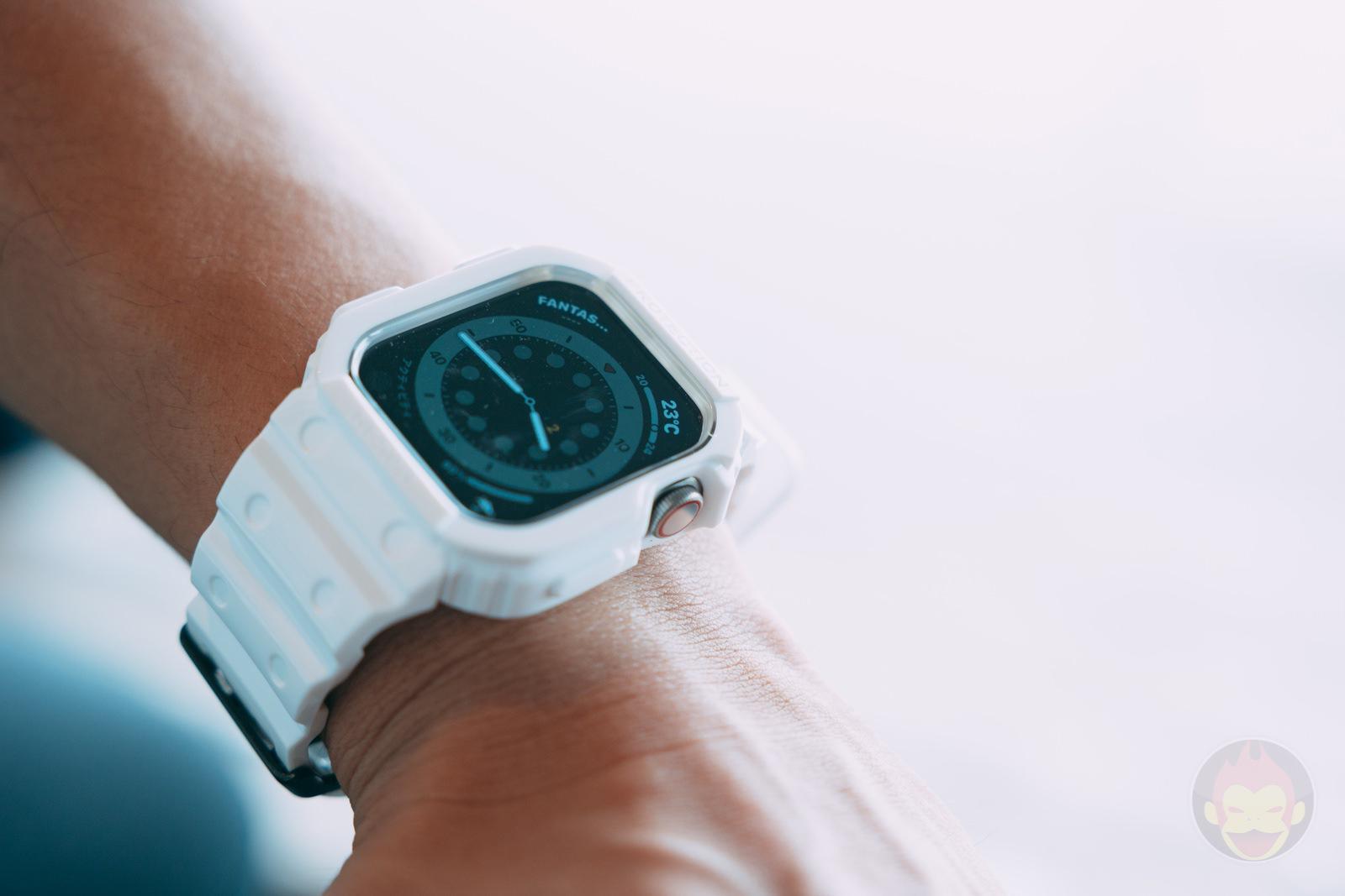 AmBand Apple Watch White G SHOCK Case 05