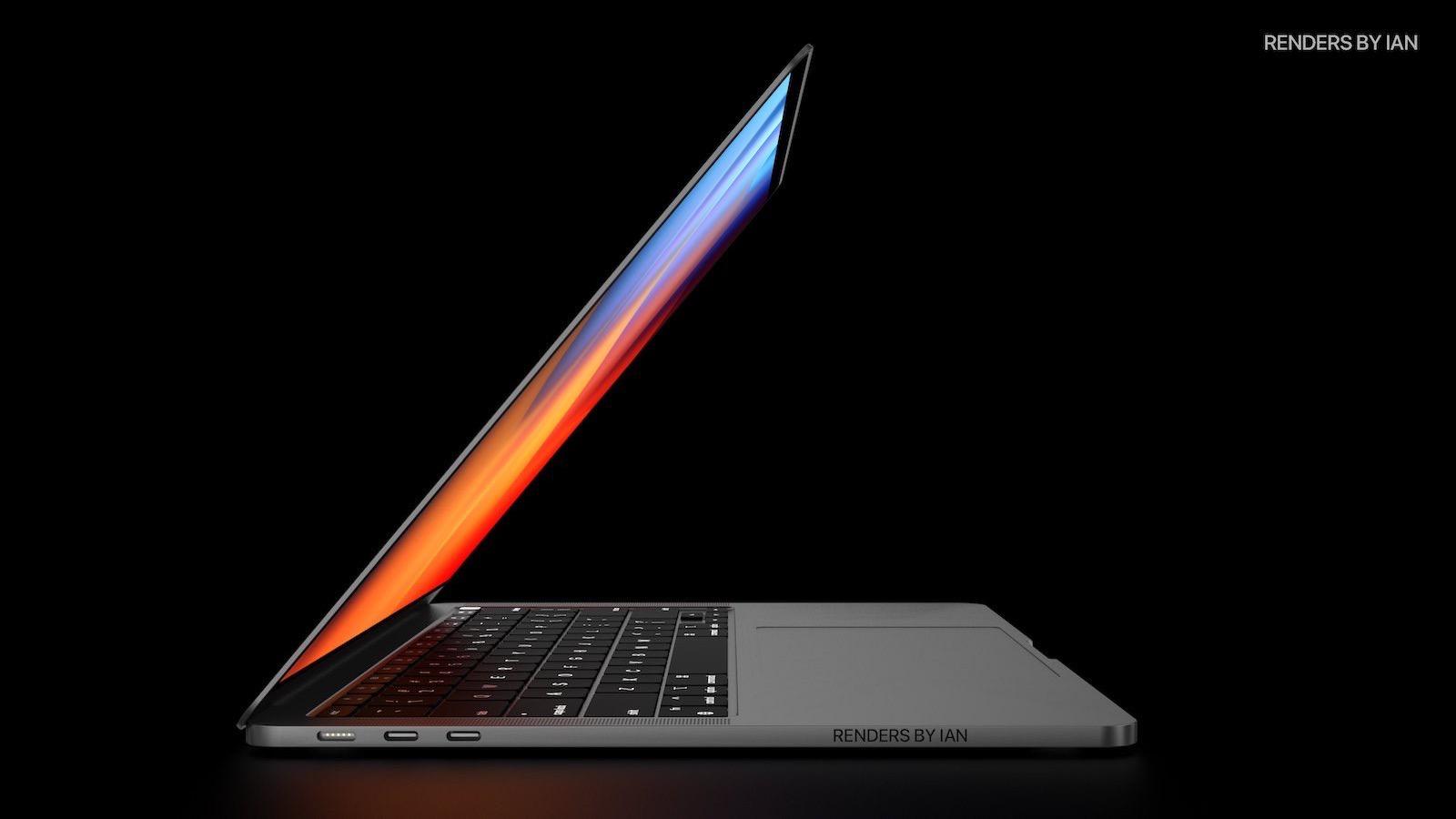 Macbook pro 14inch concept image rendersbyian
