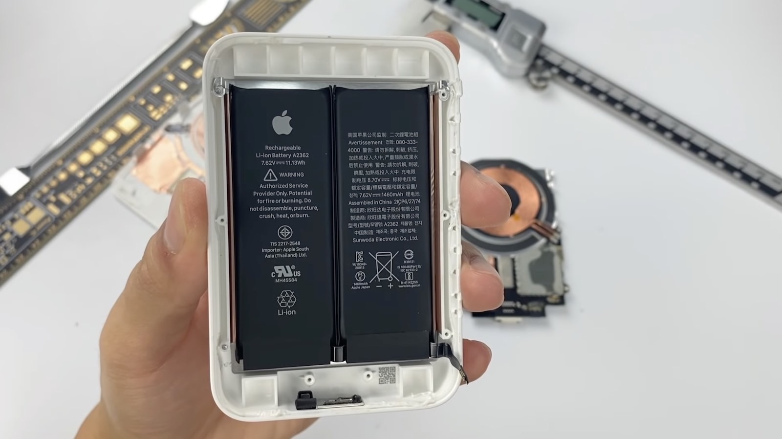 Magsafe battery pack teardown