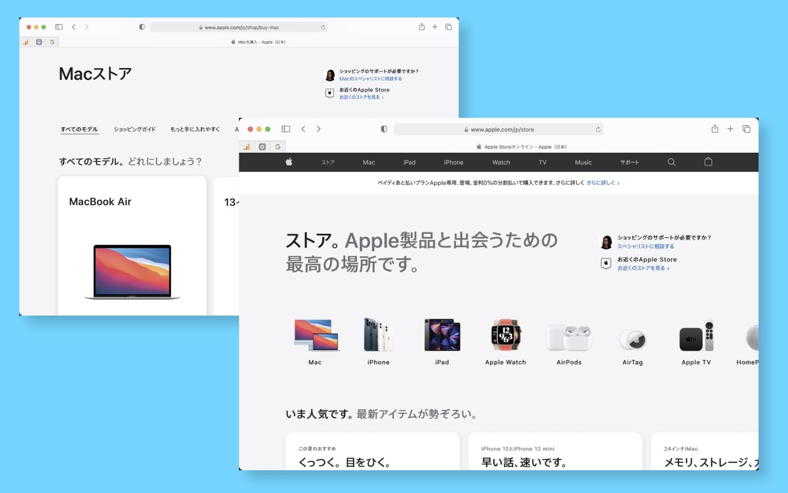 Apple Store Renewal