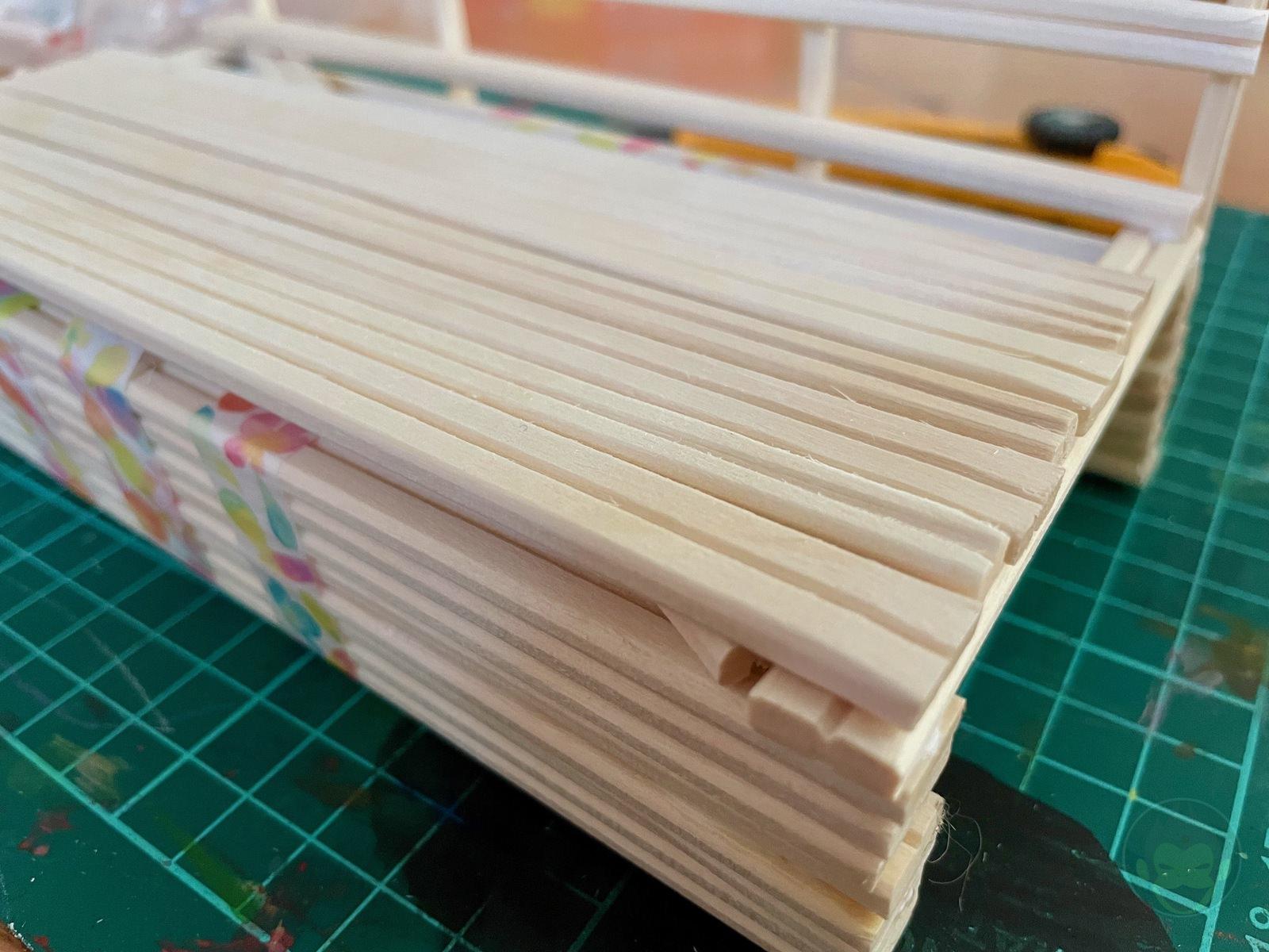 Building a Bench with chopsticks 07