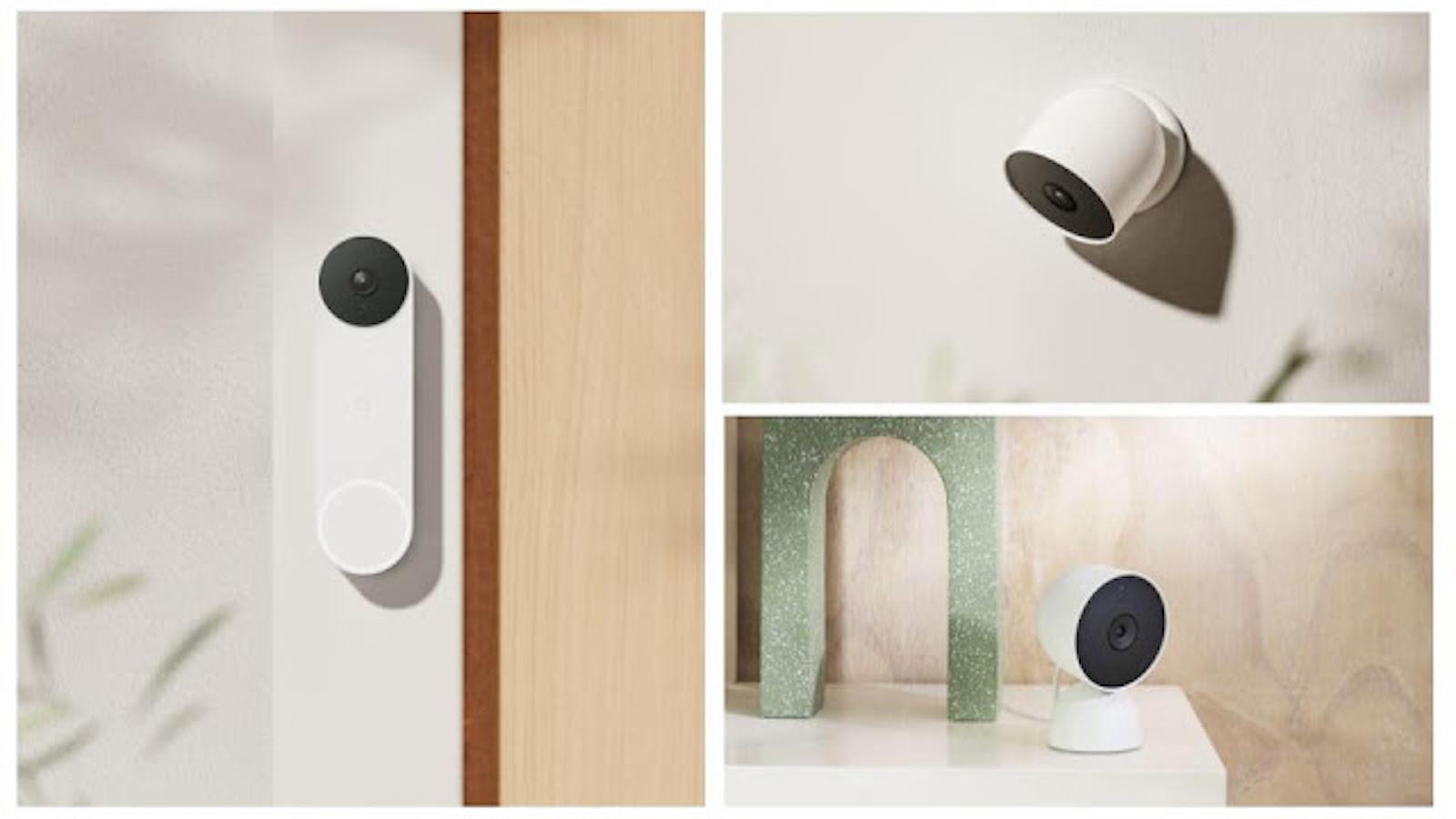 Google Nest Cam and Doorbell