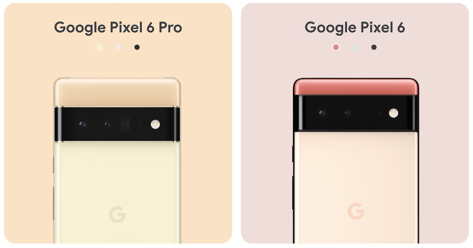 Google Pixel 6 and 6 pro release 3