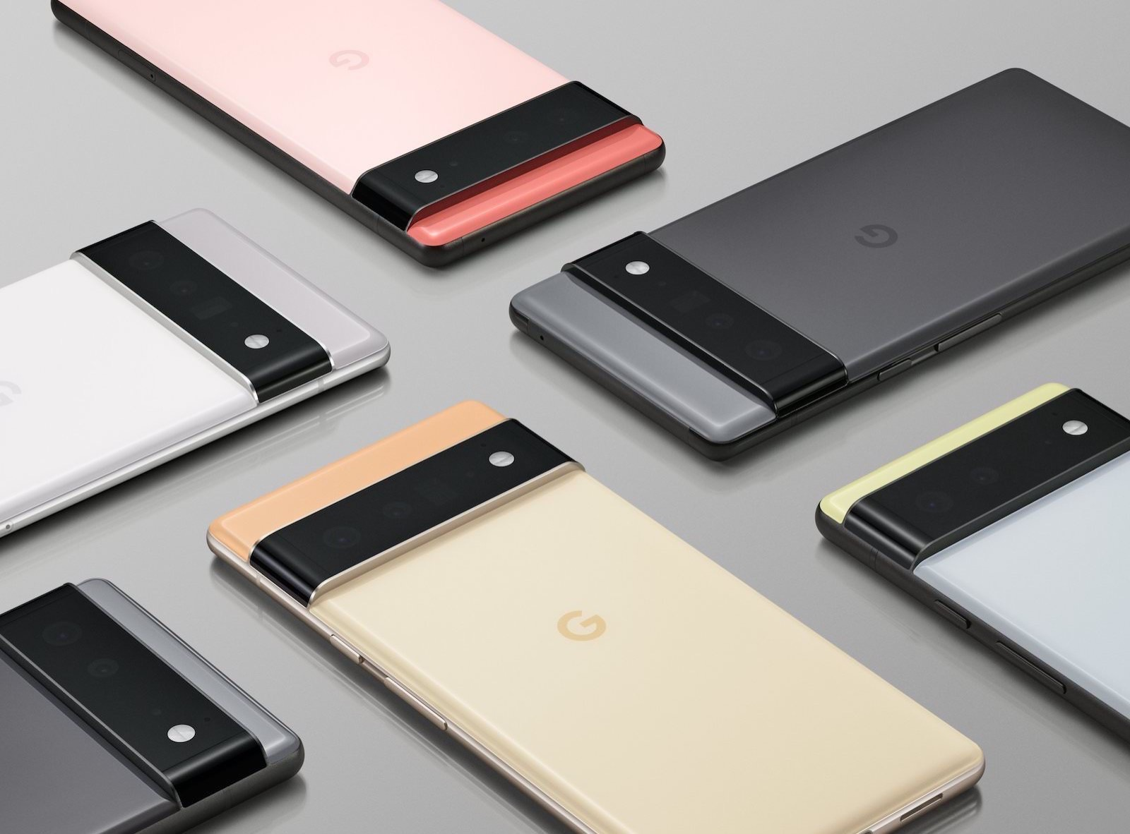 Google Pixel 6 and 6 pro release
