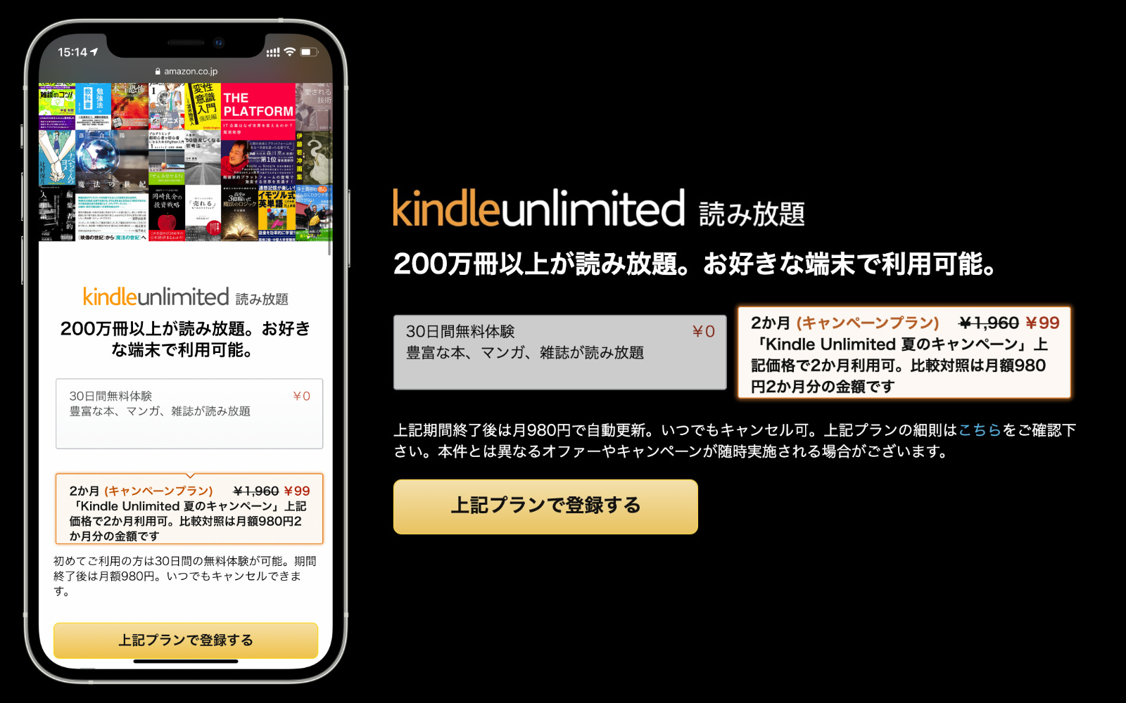 Kindle Unlimited Campaign