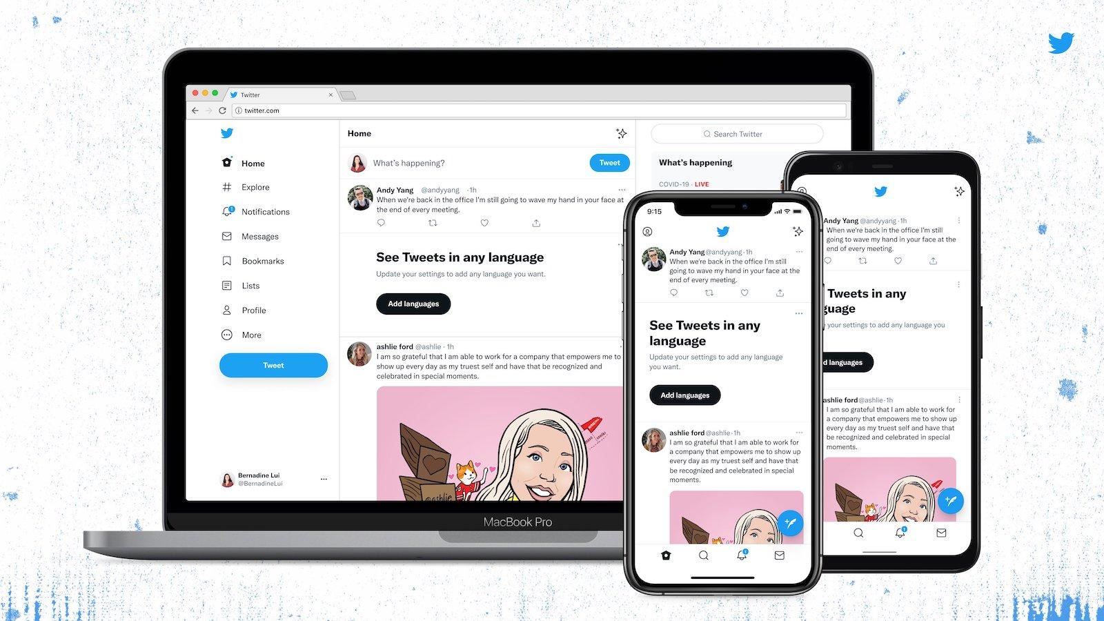 Twitter Design Renewal