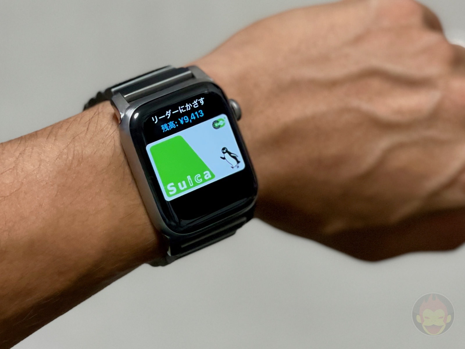 Using SUICA on AppleWatch 01