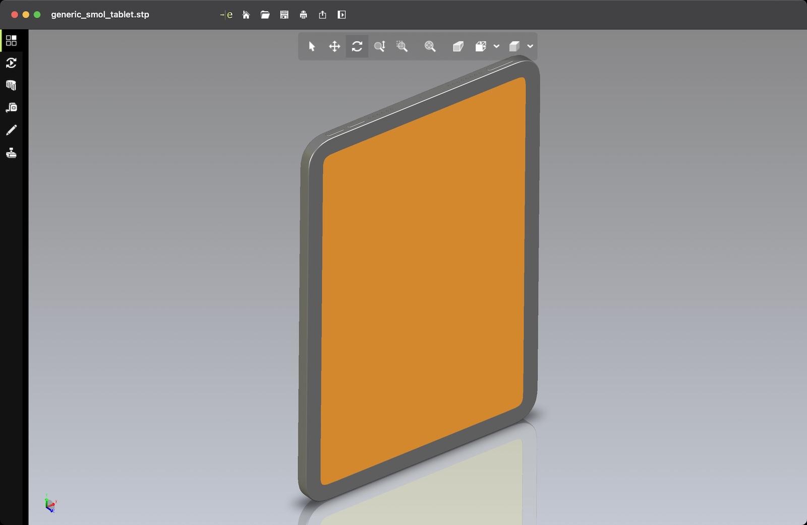 Ipad mini 6 cad render file 1
