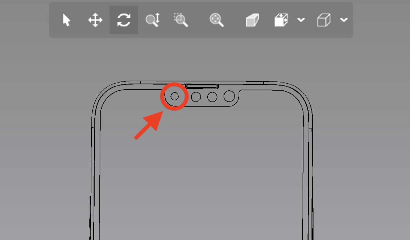 Iphone13pro cad camera