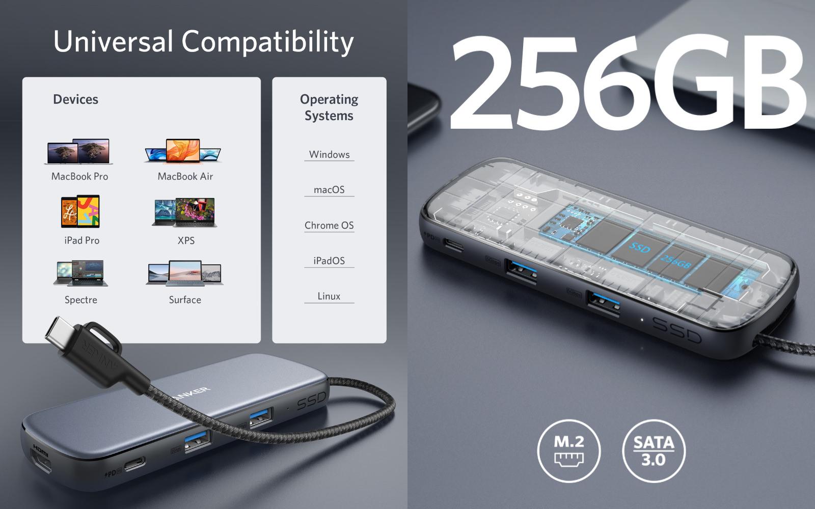 Anker PowerExpand 4 in 1 USBC Hub 3