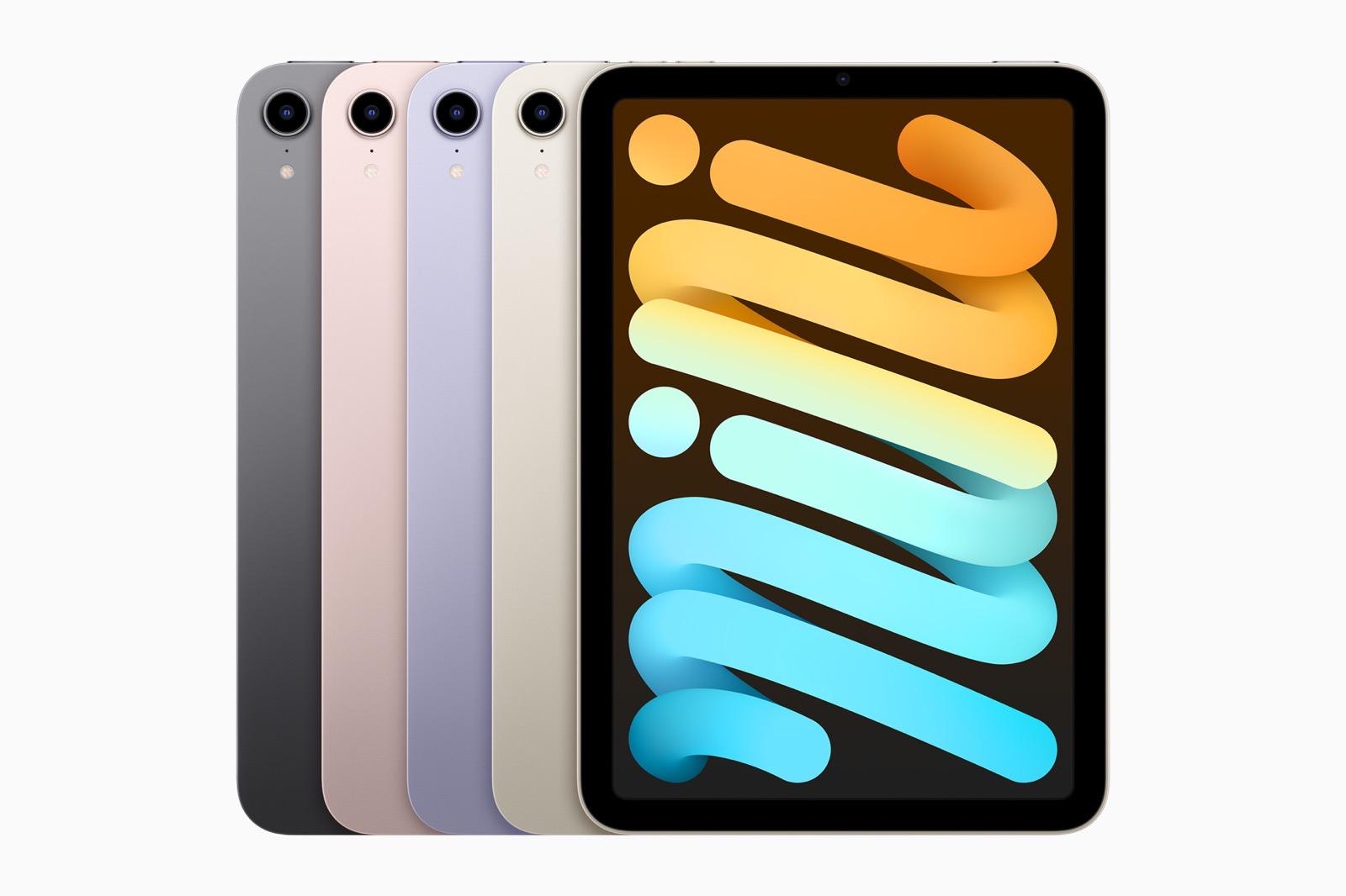 Apple iPad mini colors 09142021