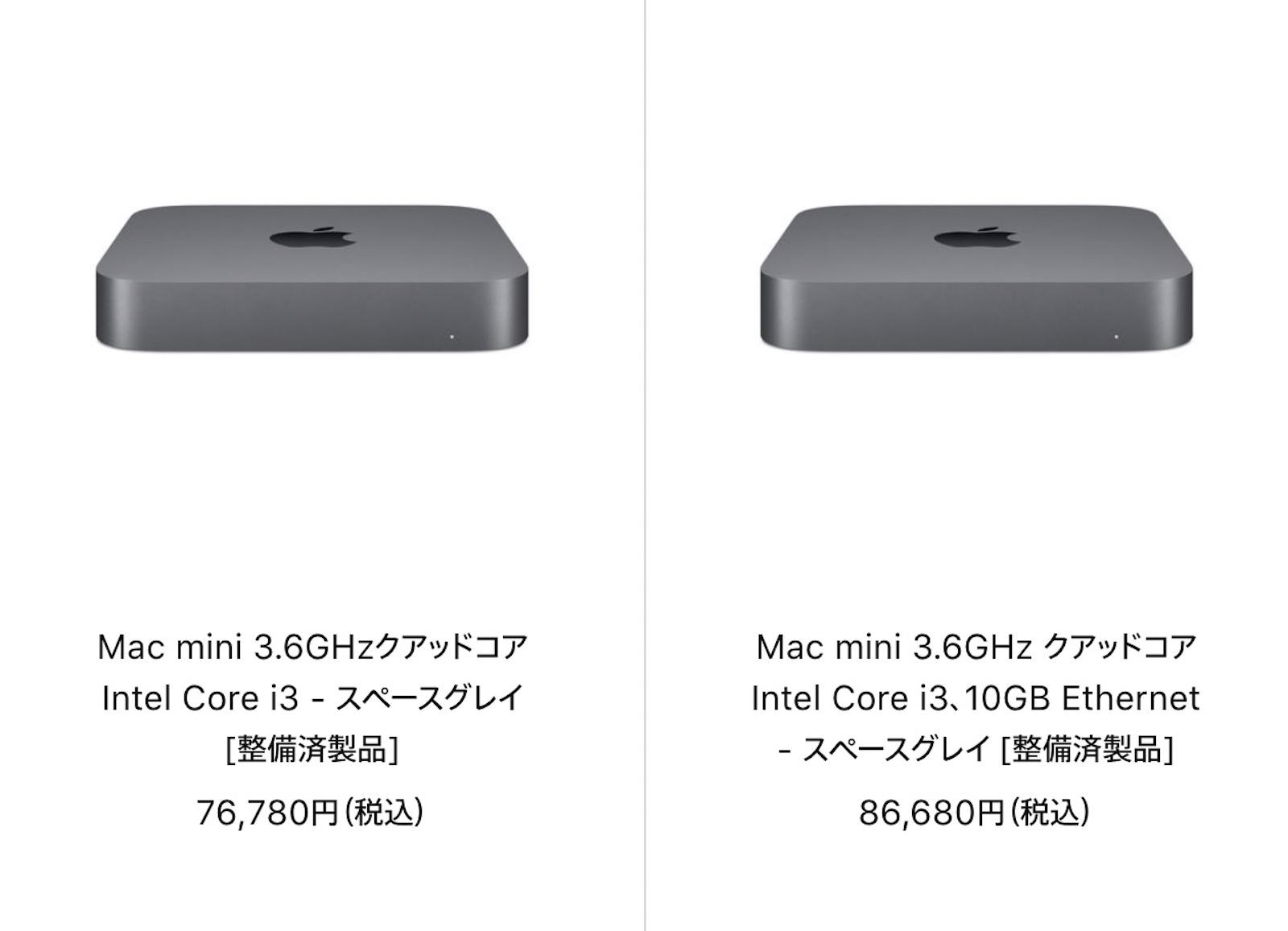 Mac Refurbished model 2021 09 17