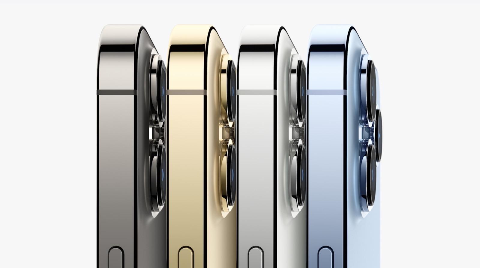 iPhone 13 Proのカラバリ