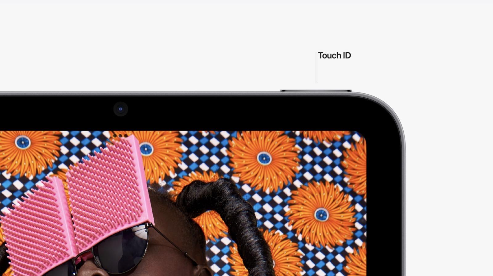 Touch ID on iPad mini 6