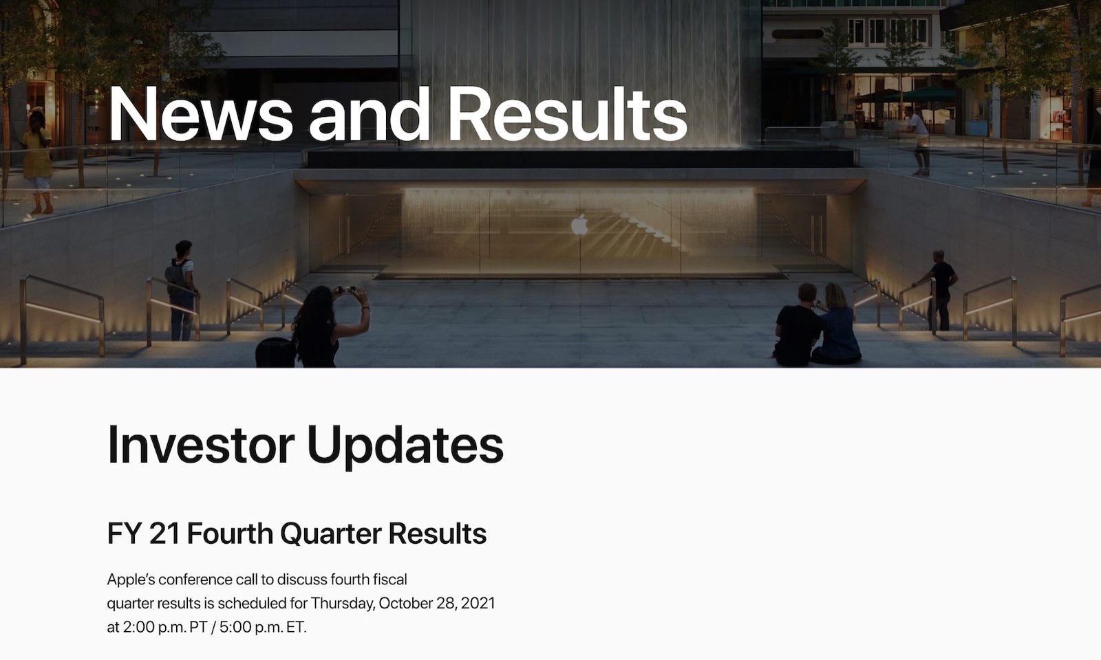 Apple financial results for 214q