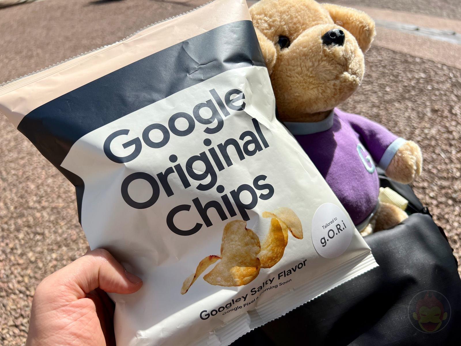 Google Chips Googley Salty Flavor 05