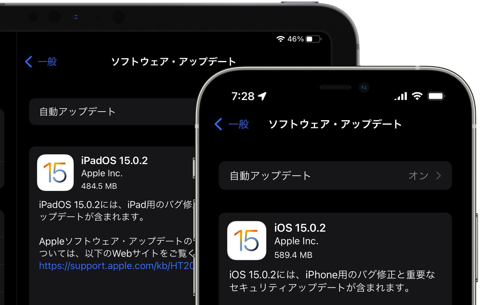 Ios ipados 15 0 2 update